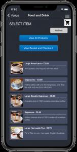 EliteLive F&B Ordering App